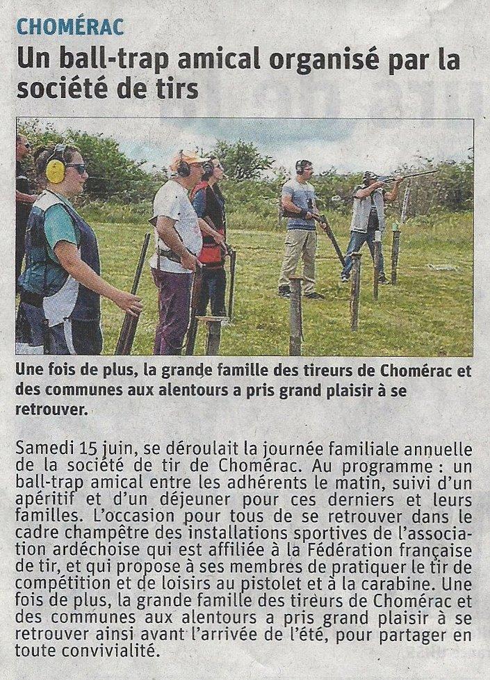 003 - Dauphiné Libéré le 17 Juin 2019