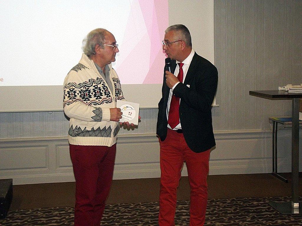 """Didier FLOCH a reçu le """"Mérite de Ligue"""" 1"""