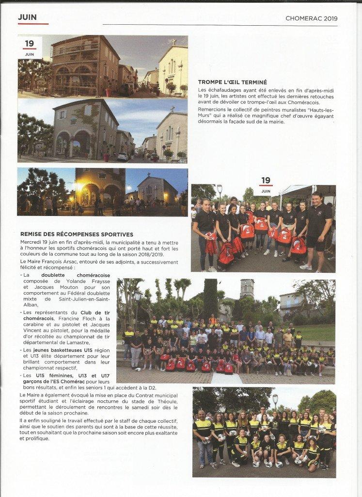 Magazine municipal de Chomérac de Janvier 2020