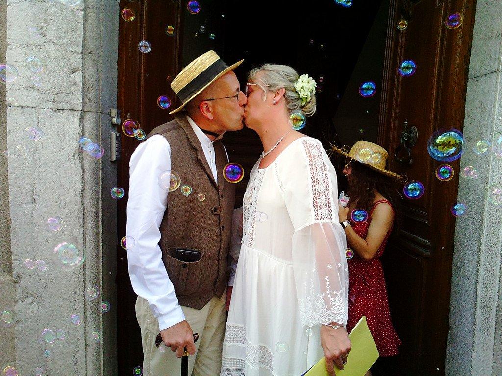 C - Mariage de Sandrine MICHEL et Pierre LAFFONT